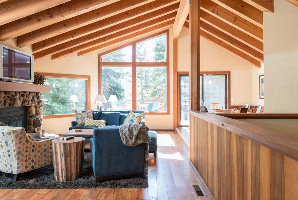 Modern Home In Alpine Meadows Tahoe Houses For Rent In Alpine Meadows California United States