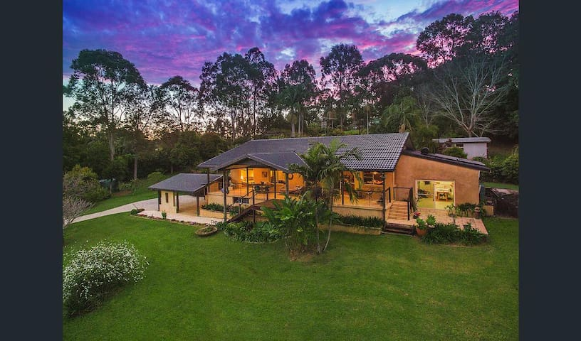 Tropical Elegance Byron Hinterland - Myocum - House