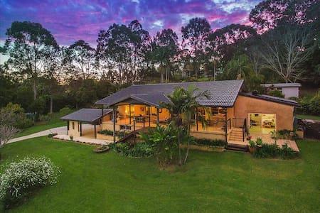 Tropical Elegance Byron Hinterland - Myocum - Haus