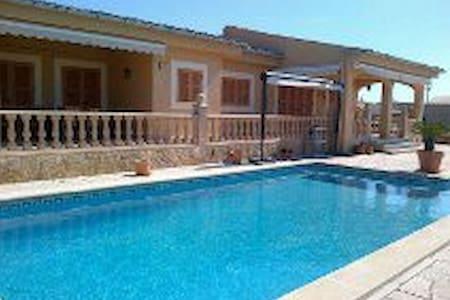 Villa encantadora de 200m y piscina - Sa Ràpita