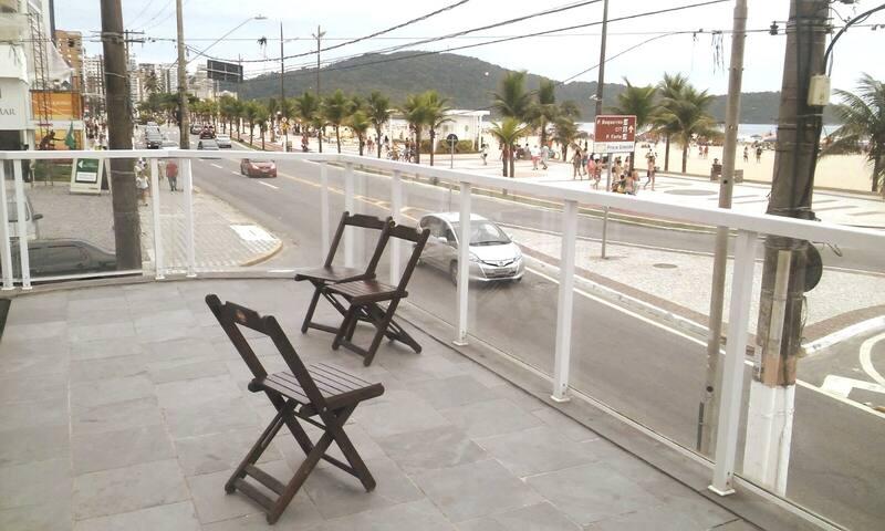 Apartamento, Praia Grande Boqueirão, Frente praia.