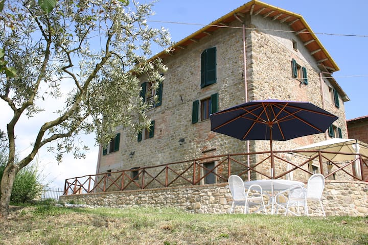 Lovely apartment with pool, Umbria - Calzolaro - Daire