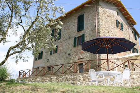 Lovely apartment with pool, Umbria - Calzolaro - アパート