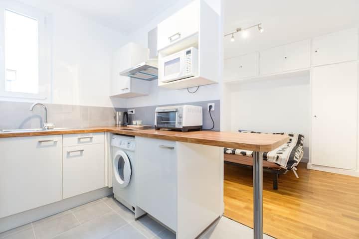 Brand new studio  -  Montparnasse P14