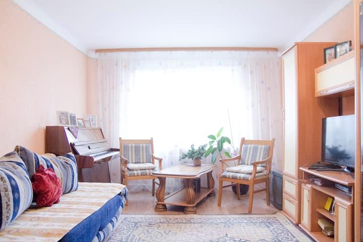 Трехкомнатная квартира в Минске