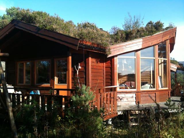 Hütte am Fjord, Paradies für Angler