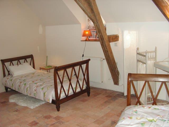 Deux chambres en centre ville de Craon - Craon - Huis
