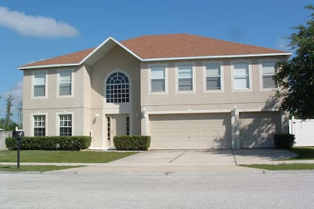 Bed/Bath in Orlando Pool/Spa House - Groveland