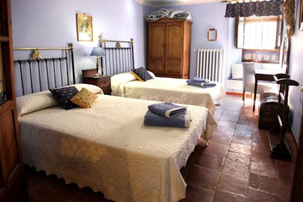 Habitación de dos plazas Casa Rural La Pequeña A