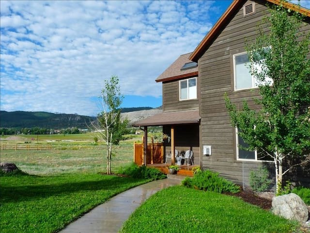 Contemporary, Mountain-View Home - Ridgway