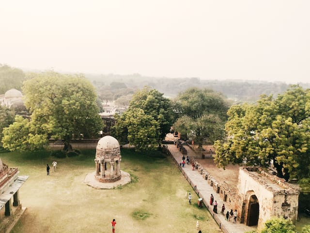 Monuments View - Hauz Khas Village
