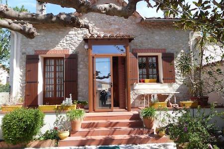 Maison de charme catalane avec jardin et terrasse - Maureillas-Las-Illas - Daire