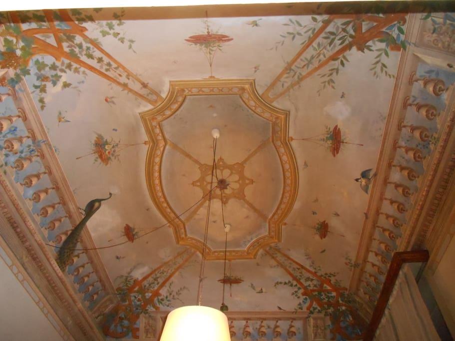 soffitto affrescato da giuseppe masella (1857)