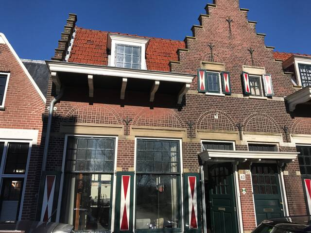Cosy monumental house close to Amsterdam and beach