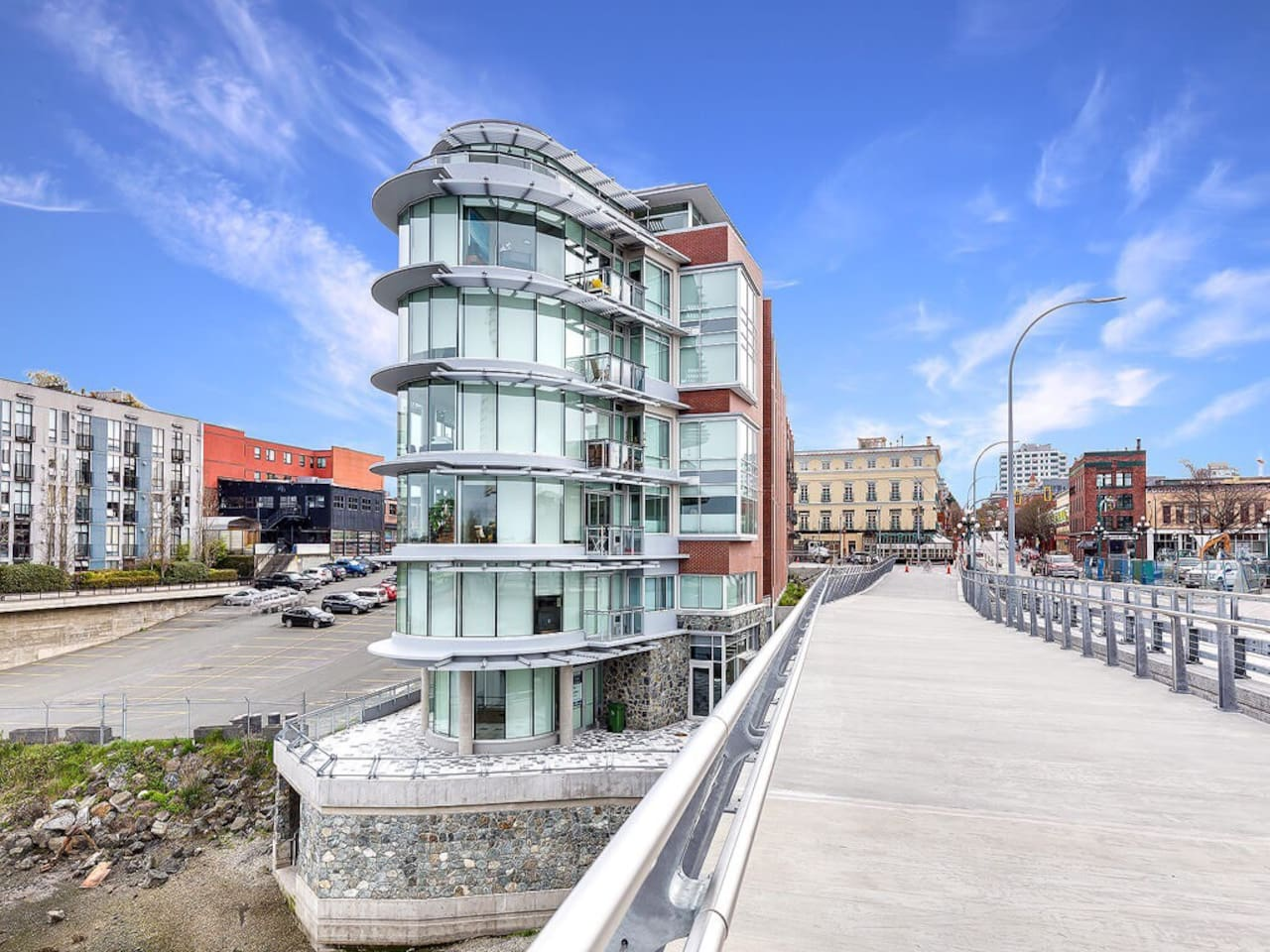 Welcome to The Janion, recently converted historic warehouse, waterfront and in the heart of Downtown, Victoria, BC.
