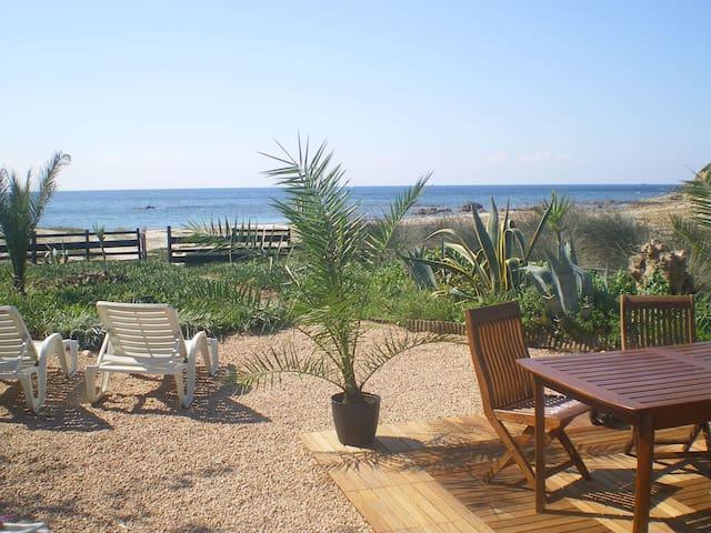 House sea edge Corsican beach(range - Cargèse - Casa