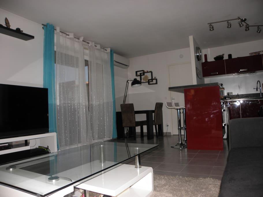 Appartement T2 climatisé