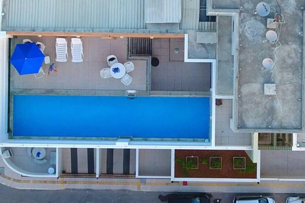 Área de Lazer do Prédio (em destaque a piscina)