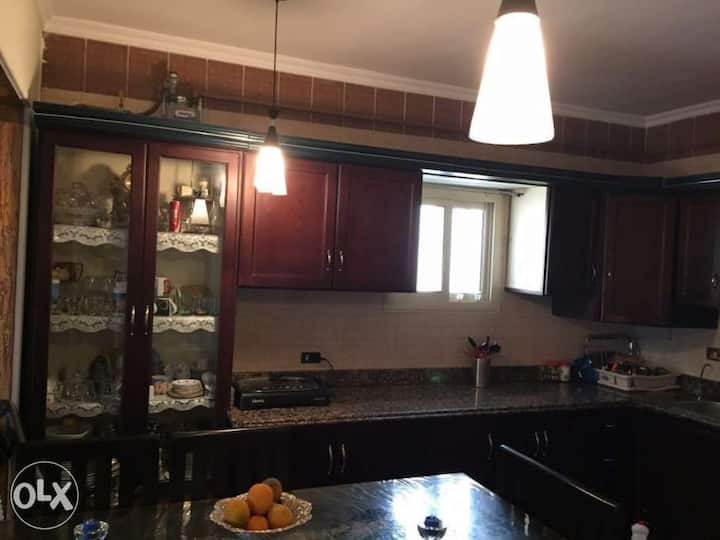 Amazing furnished Flat in villa Family's.New cairo