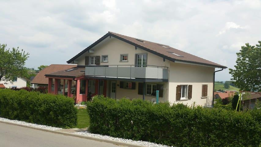 Grande Chambre indépendante 1-2p - Vuisternens-en-Ogoz - Casa