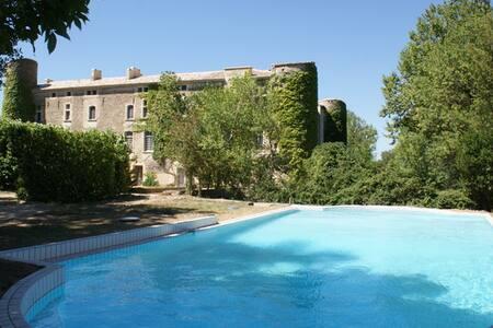 Appt ds chateau - piscine AVIGNON - Castle