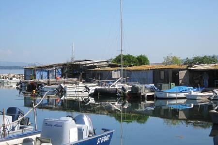 Sète Quartier typique de pêcheurs