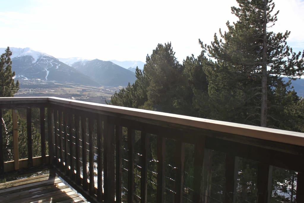 2e étage - Vue depuis le balcon