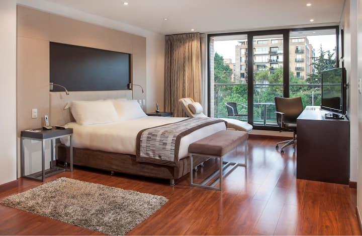 Jazz Apartments. Suite 1 ambiente