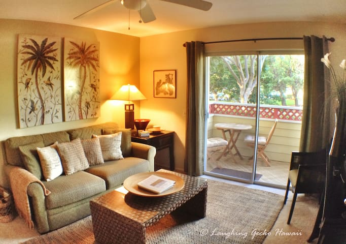 1br end unit condo on golf course  - Waikoloa Village - Daire