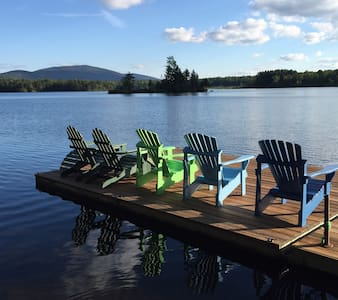 Family-Friendly Lakefront Paradise in Southern VT - Mount Holly - Rumah