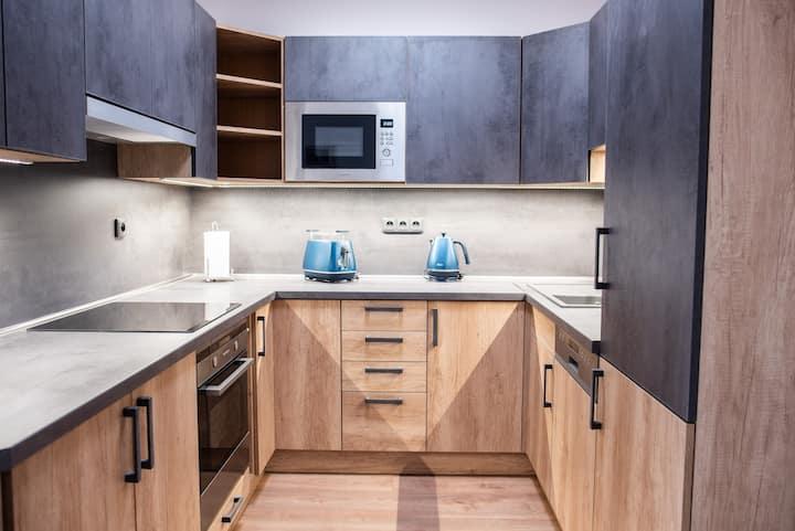 Moderně vybavený apartment