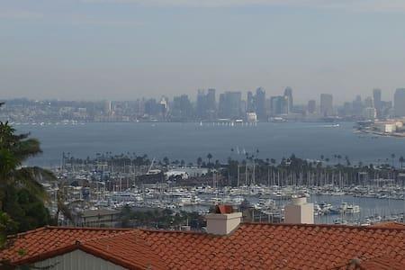 Spectacular view of San Diego bay! - San Diego - Ház