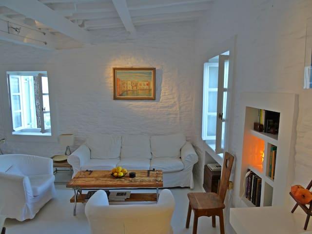 Melina Holiday Home  Stone-built Cottage - Lefkes - Talo