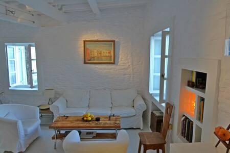 Melina Holiday Home  Stone-built Cottage - Lefkes