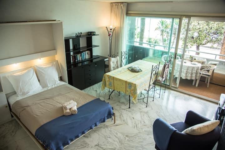 Studio with Terrace Promenade Swimming Pool