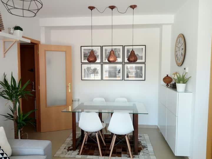 Coqueto apartamento en agradable entorno