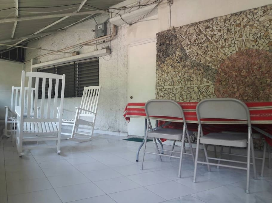 Common area by the balcony