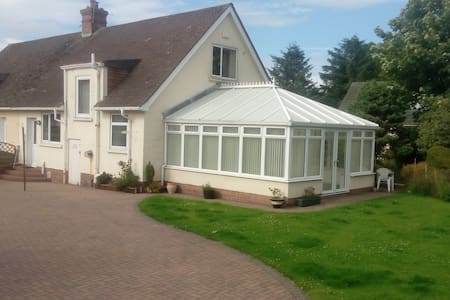 Room and large conservatory - Symington - Casa