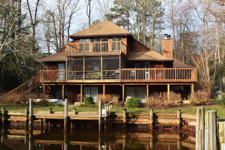 Stunning Private Suite in Quiet Waterfront Home - Ocean Pines - House