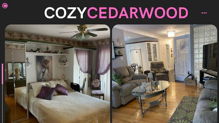COZY CEDARWOOD