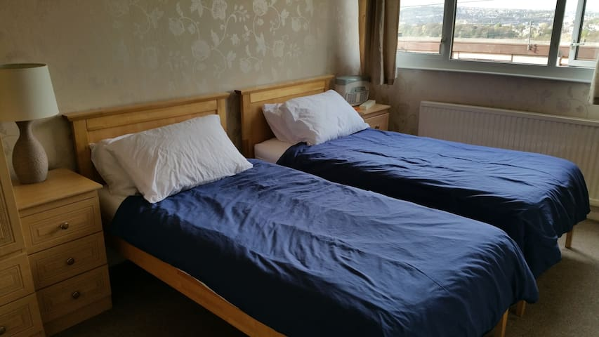 Quiet room nr station & city centre. Free pick up. - Sheffield - House