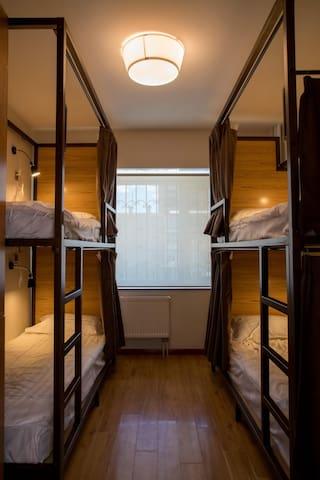 Heart of Ulaanbaatar(4 mix bed-1)_HARU HOUSE UB2