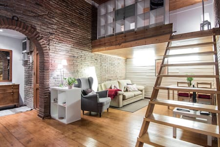 Rustic apartment with terrace BCN - Barcelona