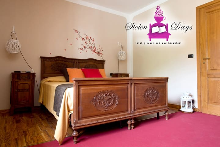 Brown room, bouble room (or 1+1 beds) in B&B villa - Novaretto - Penzion (B&B)