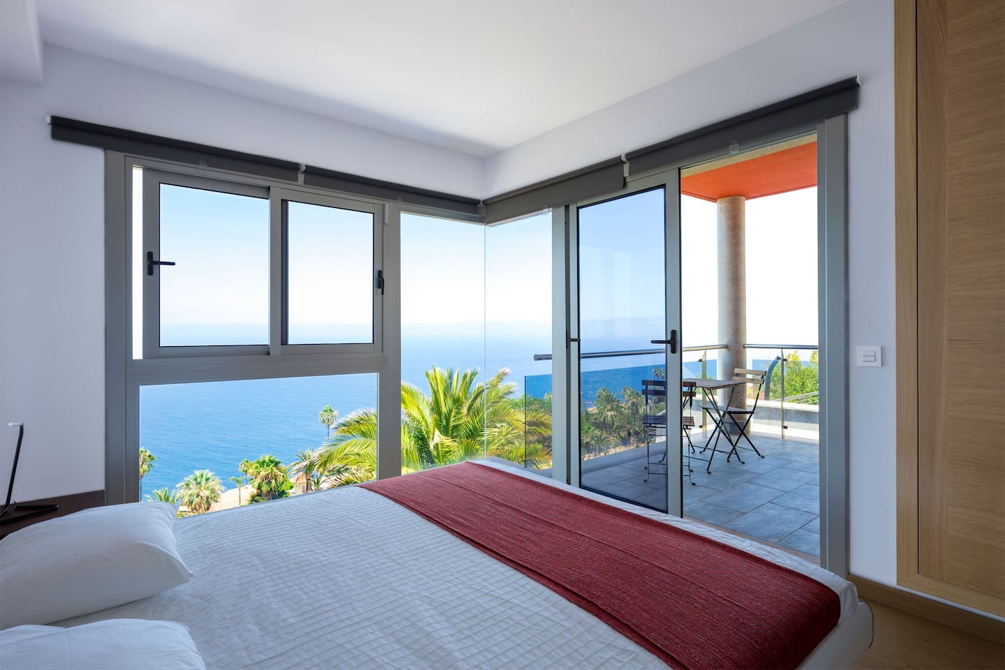 Master bedroom views