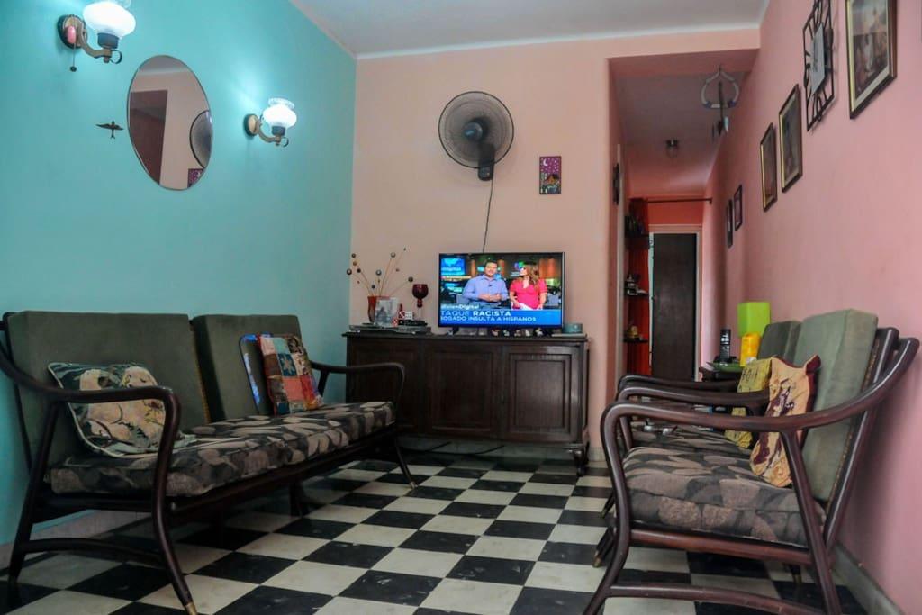 Sala recibidor