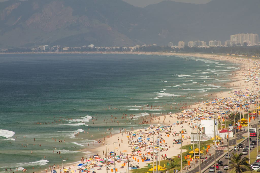 Vista praia lateral