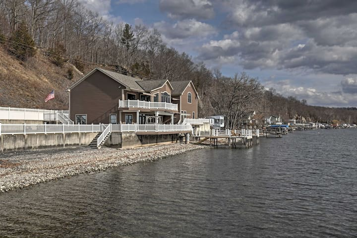 6BR Aurora House on Cayuga Lake - Aurora - House