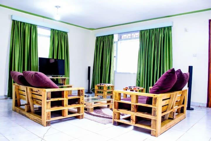 VIBA Pallet House in Milimani, Kisumu