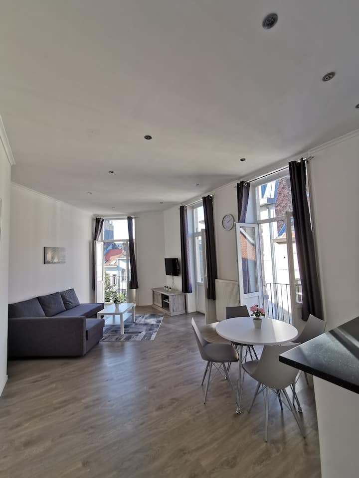 Bright & spacious appartement w/ a nice terrace
